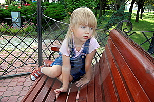 Melancholy Girl Royalty Free Stock Image - Image: 8489836
