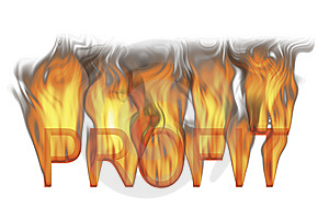 Hot Profit Stock Image - Image: 8489981