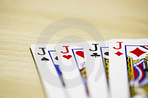 Playing Card Royalty Free Stock Images - Image: 8490649