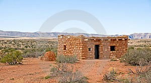 Primitive Native American Dwelling Stock Images - Image: 8491014