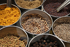 Cooking Spices Stock Photos