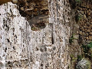 Turkey,Alara Han-the Walls Of The Fortification Royalty Free Stock Image - Image: 8491496