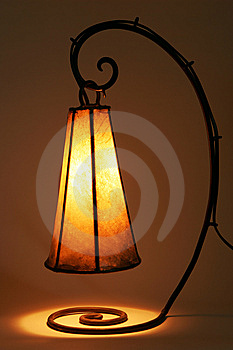 Vintage Lamp Royalty Free Stock Image - Image: 8491936