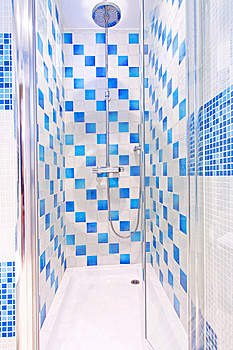 Shower Cabin Royalty Free Stock Image - Image: 8491996