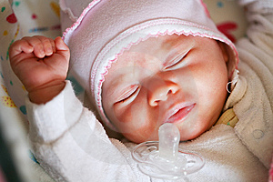 Peaceful Sleeping Baby Stock Photo - Image: 8492070