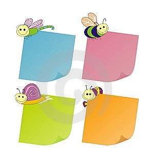 Funny Stickers Stock Image - Image: 8492291