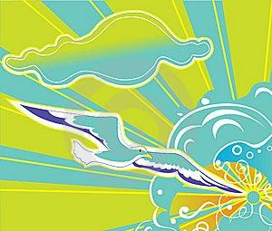 Seagull Royalty Free Stock Image - Image: 8492606