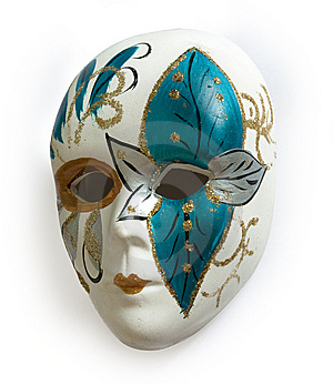 Venetian Carnival Mask Stock Photography - Image: 8493362
