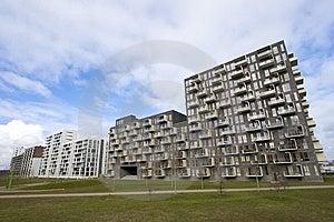 New Apartment Buildings Stock Photos - Image: 8493503