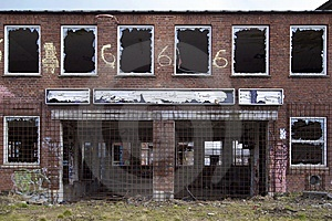 Abandoned Building Royalty Free Stock Photography - Image: 8493517