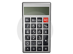 Calculator Royalty Free Stock Photo - Image: 8493745