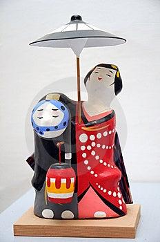 Japanese Doll Stock Image - Image: 8493871