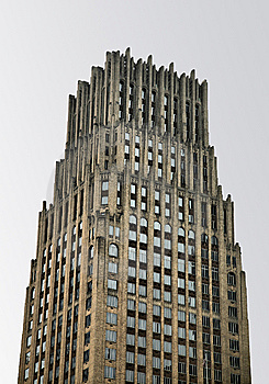 Tall Cathedral-like Skyscraper Stock Photos - Image: 8494433