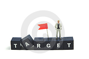 Business Target Stock Photo - Image: 8494570