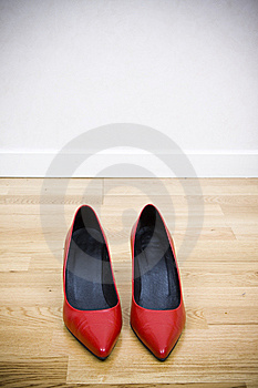 Sexy Red Shoes Royalty Free Stock Photos - Image: 8494798