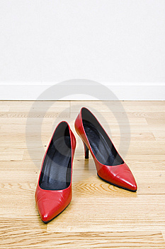 Sexy Red Shoes Royalty Free Stock Photo - Image: 8494805
