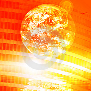Earth Technology Background Royalty Free Stock Photos - Image: 8495498
