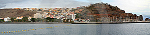 Panorama Of Island Royalty Free Stock Photography - Image: 8496597