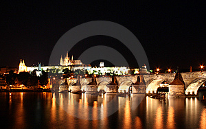 Charles Bridge, Prague Royalty Free Stock Image - Image: 8496686