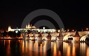 Charles Bridge, Prague Royalty Free Stock Image - Image: 8496686