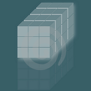 Cubes Stock Photos - Image: 8496933