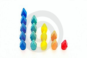 Colored Colums Stock Image - Image: 8497991
