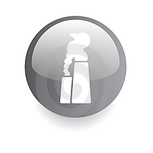 Enviromental Button Royalty Free Stock Image - Image: 8498546