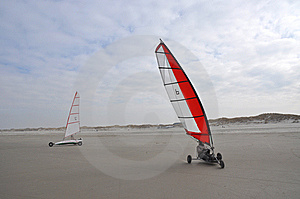 Beach Sailing Stock Image - Image: 8498851
