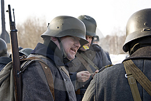 Finnish Soldiers (1939-44) Royalty Free Stock Images - Image: 8499279