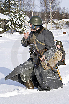 Finnish Soldier 1939-1940 Royalty Free Stock Images - Image: 8499619
