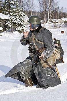 Finnischer Soldat 1939-1940 Lizenzfreie Stockbilder - Bild: 8499619