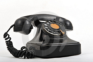 Old Telephone Royalty Free Stock Photo - Image: 8499885