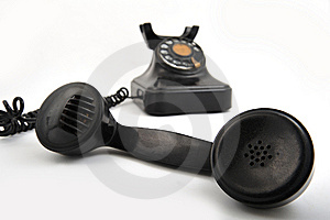 Old Phone Royalty Free Stock Photo - Image: 8499895