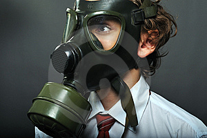 Gas Mask Royalty Free Stock Images - Image: 8499969