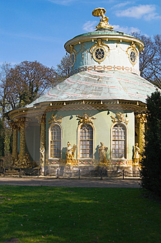 Chinese House In Sanssouci Par Royalty Free Stock Photography - Image: 850397