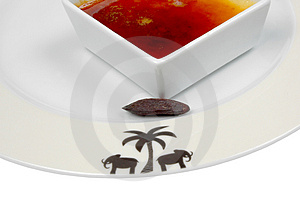 Burn Cream With Tonkha Stock Photo - Image: 851980
