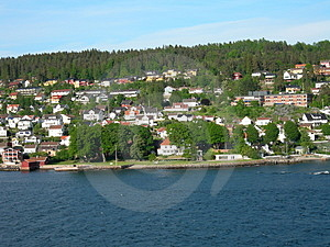 Drøbak In The Oslo-fjord Stock Photography - Image: 854152
