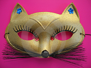 Cat Mask 1 Stock Photo