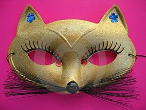 Cat Mask 1 Fotografia Stock