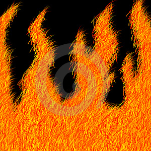 Furry Flame Effect Stock Image - Image: 858601