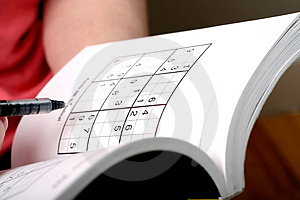 Sudoku Royalty Free Stock Photo