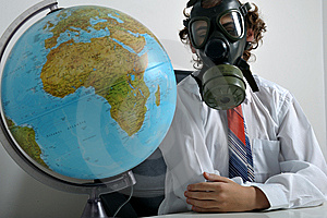Global Pollution Stock Photos - Image: 8500013