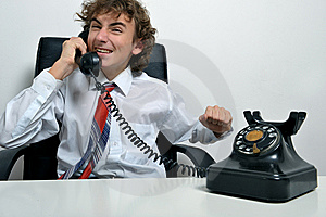 Angry Businessman Royalty Free Stock Images - Image: 8500019