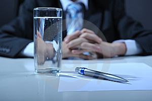 Office Detail Royalty Free Stock Photo - Image: 8500075