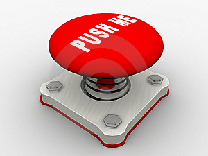 Red Start Button Stock Photo - Image: 8500850