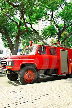 Fire Truck Royalty Free Stock Images - Image: 8501519