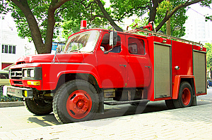 Fire Truck Stock Images - Image: 8501614
