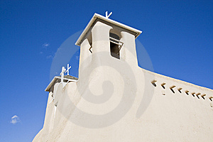Church In Taos Royalty Free Stock Photos - Image: 8501848