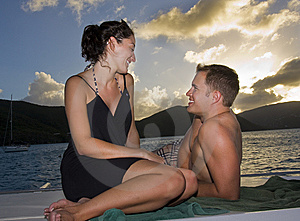 Happy Couple On Vacation Stock Images - Image: 8502184