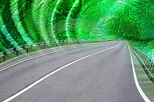 Abstract Road Stock Image - Image: 8502981